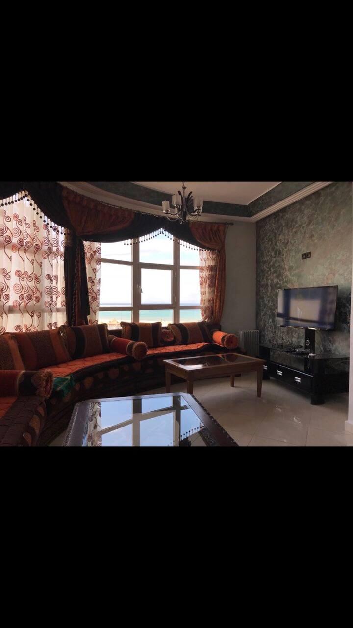 Appartement à la corniche centre ville de Tanger.