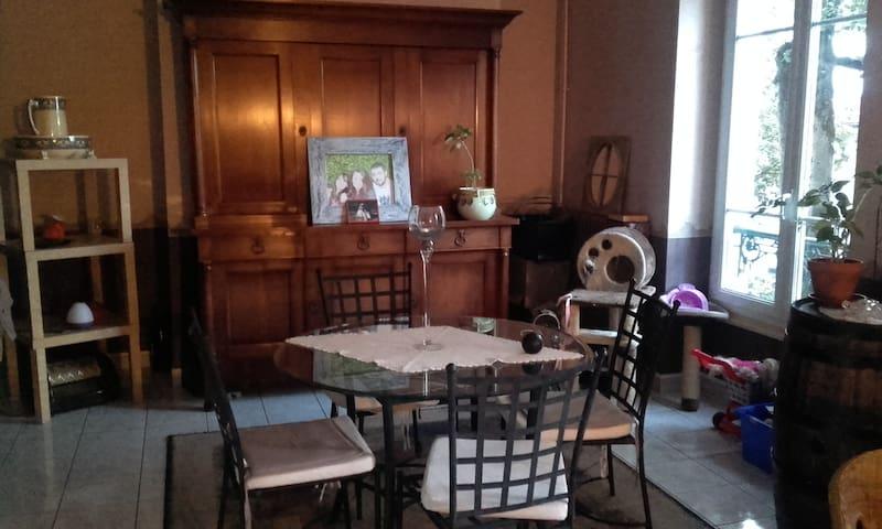 Chambre au calme sur vichy - Vichy - Apartament
