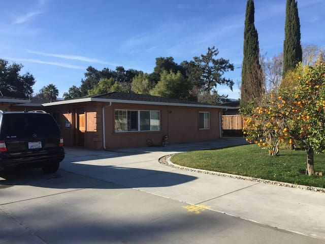 Quiet Silicon Valley house - Saratoga - Dom