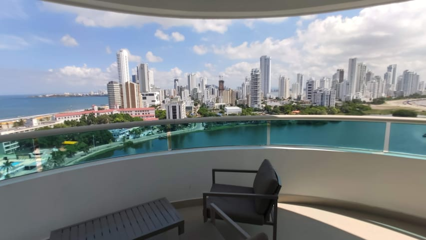 Luxury Semi Penthouse,  best views of Cartagena