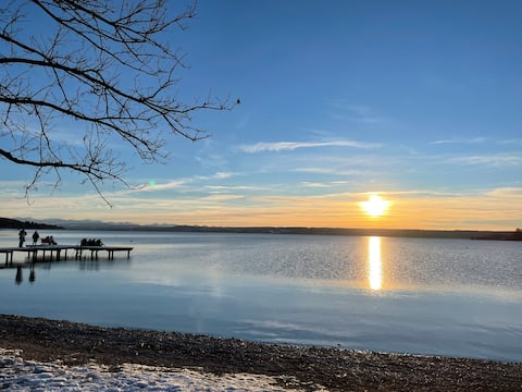 Time out Herrsching-living on Ammersee - April '21