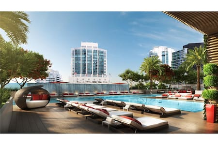 Captivating Studio in the Heart of Brickell - Miami - Appartement