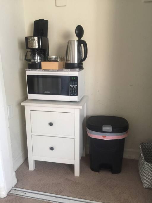 Coffee/Kettle/Microwave