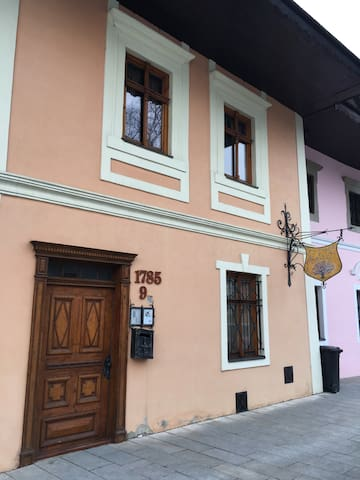 Apartments in historical centre - Poprad - Bed & Breakfast