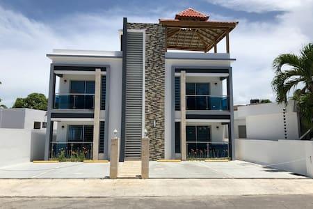 New 3 bedroom beach front condo in Rio San Juan