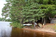 Private Island near Algonquin Park