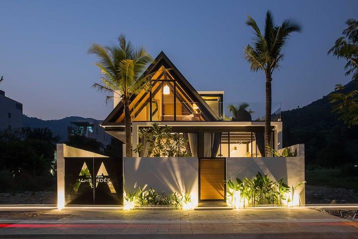 Maison Mansardée*SUNNY Scandinavian Villa 1