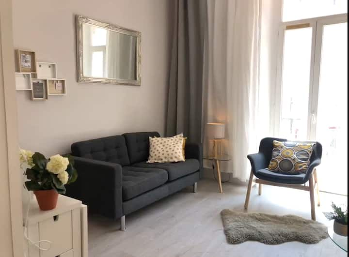Studio calme, lumineux / Centre Nice / Balconnet
