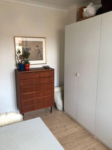 Hyggeligt værelse på Nørrebrogade