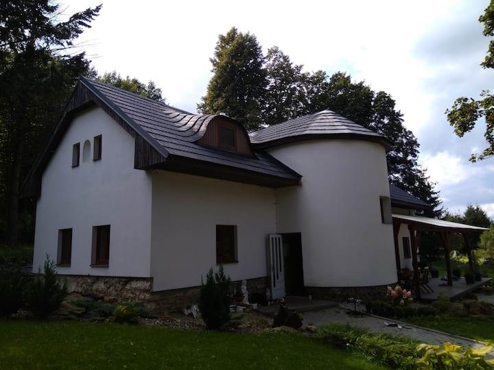 Dům na Vysočině s bazenem