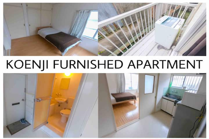 Private Flat in KOENJI AREA / Equipped for Cooking