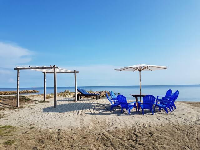 Casa en la Playa de Covenas.