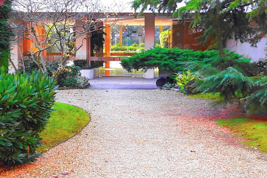 Private Garden inside the Residence