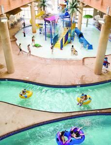 New 3BR/2BA Bridges Bay Resort Cabin - Arnolds Park