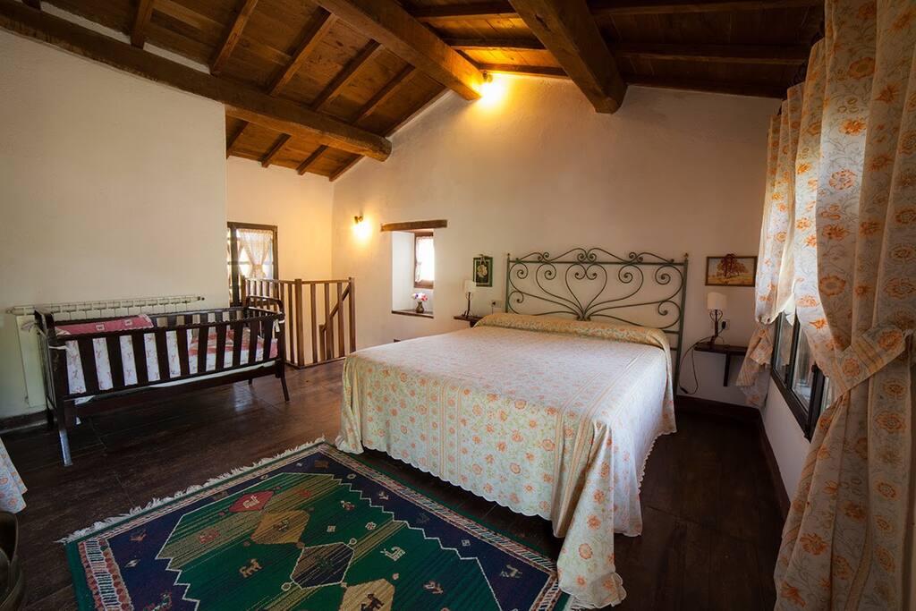 La romantica camera di Capanne 4