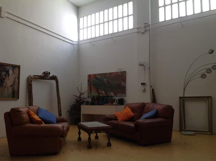 Sant Adria Metro, 2 bedroom converted large space.