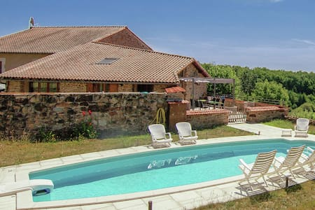 Spacious Holiday Home in Roussines with Private Pool