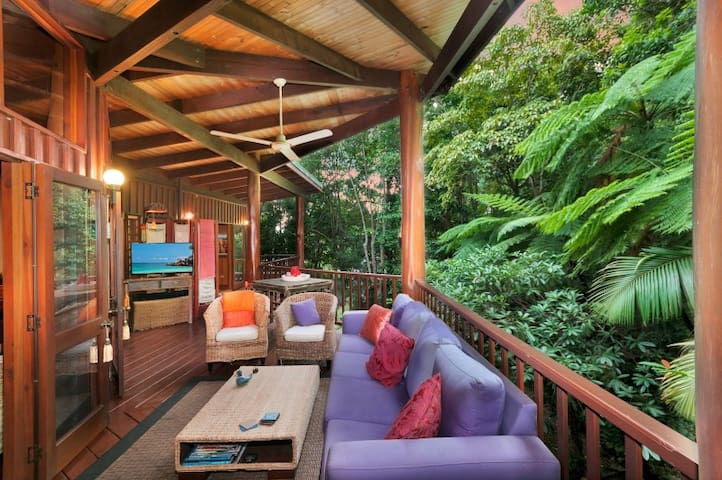 Rainforest Forest Pole Home - Cairns - Freshwater - Haus