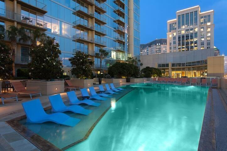 Amazing Views in Luxury Dallas High-Rise