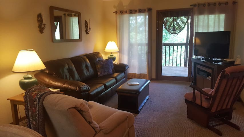 Beautiful condo one mile from Silver Dollar City