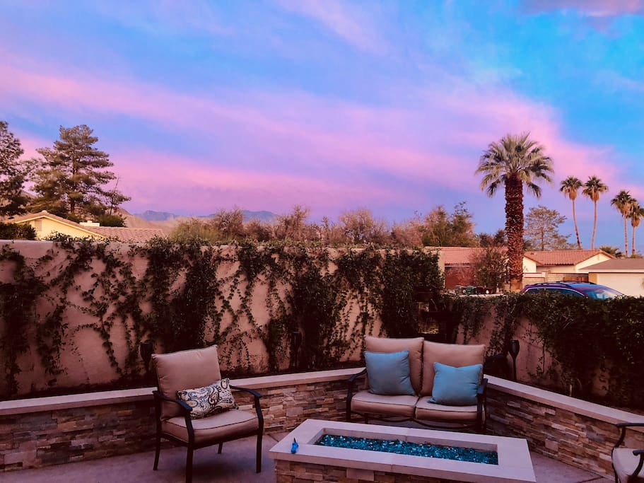 Surreal Sunsets from your front door