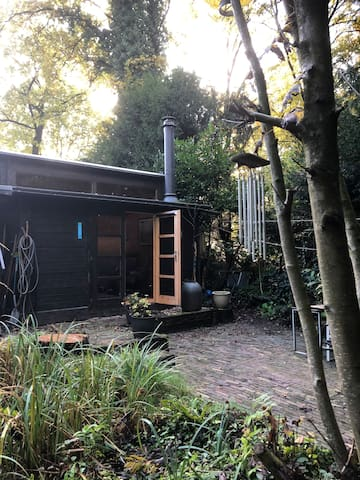 Rustige cottage met sauna & houtkachel.