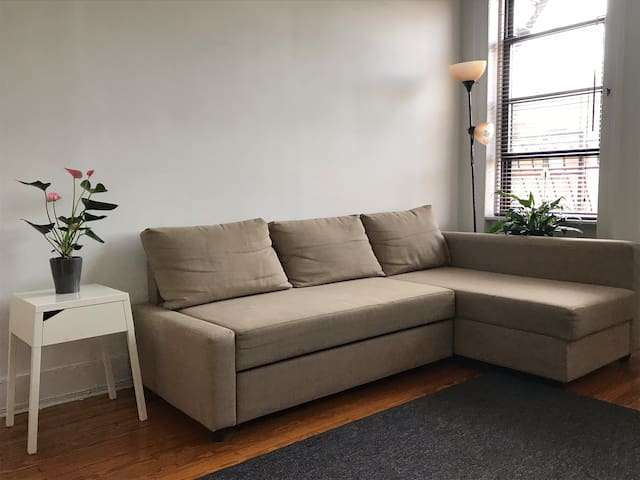Bright Cozy Spacious Best Value 1bed 15 min to NYC
