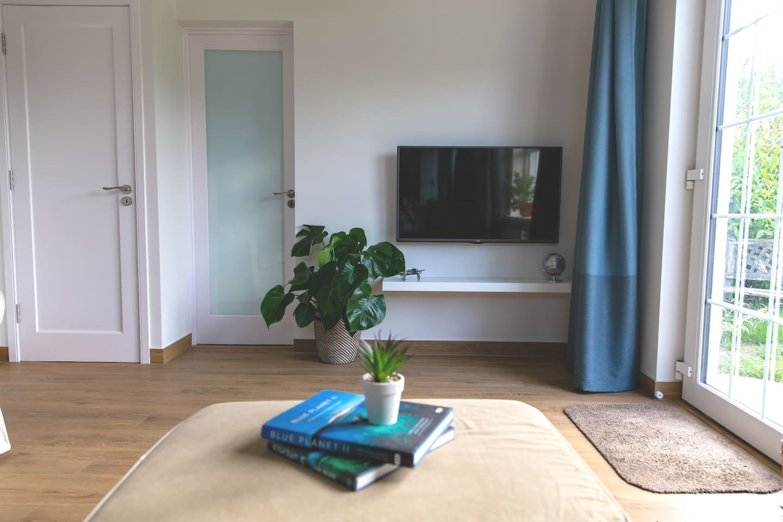 "Guest lounge area 42"" LED Freesat"