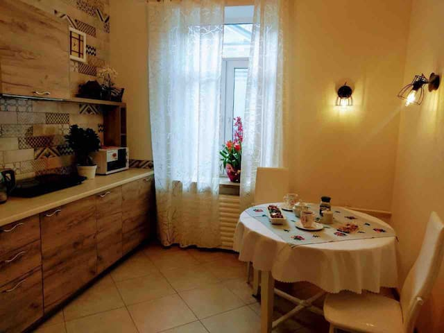 Apartment in the historic center of the city