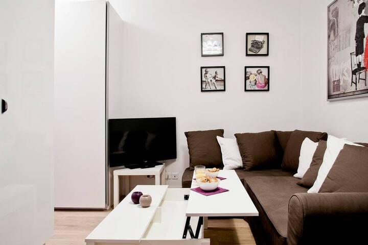 Beautiful one-bedroom - Le Marais