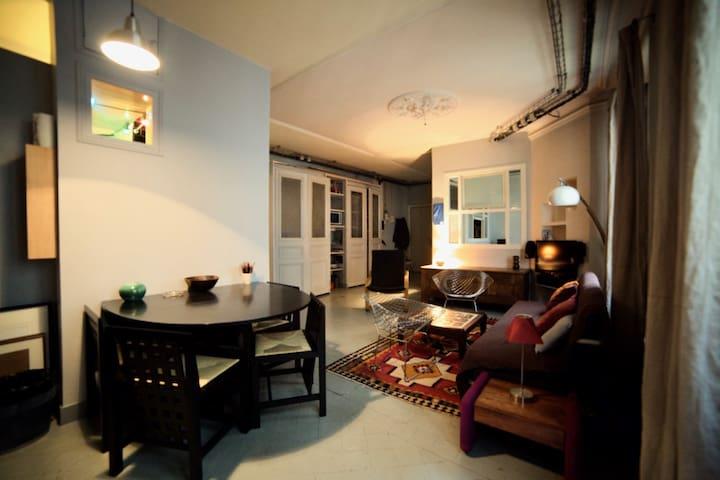Au pied de Montmartre, loft-vintage 4 personnes
