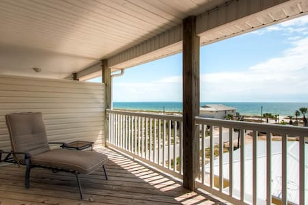 Beach Bums B-AVAIL 12/8-12/12 $715 -RealJOY Fun Pass-Gulf Views-100 steps to Mexico Beach - Mexico Beach
