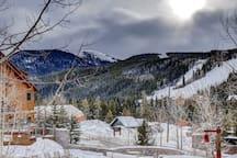 Mountain views from the Keystone Family Zone Condo