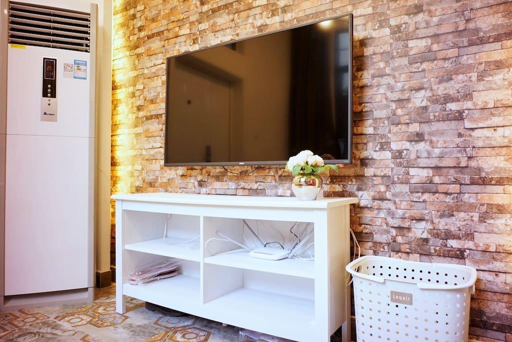LED TV with TV Box 智能电视盒子