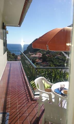 Dream Villa; private and quiet, discover; enjoy - Ribeira Brava - Huis