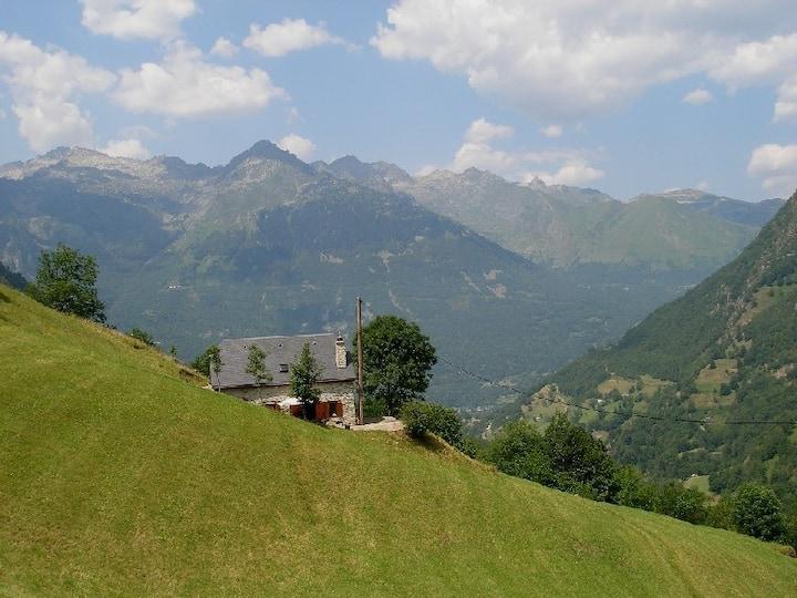 Luxueuse Bergerie dans un panorama haute montagne