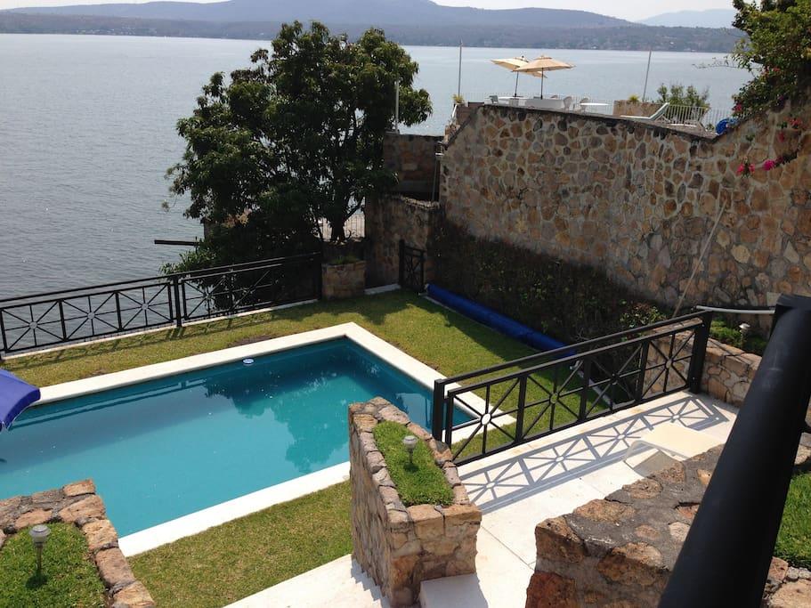 Villa tequesquitengo orilla lago villas for rent in for Villas imss tequesquitengo mor