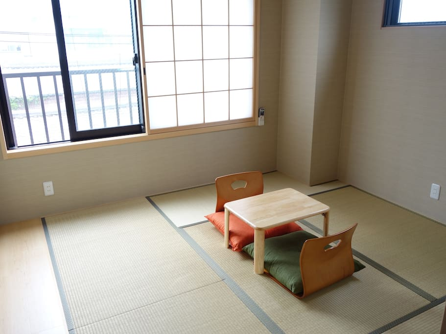 Japanese Twin Room: Traditional style