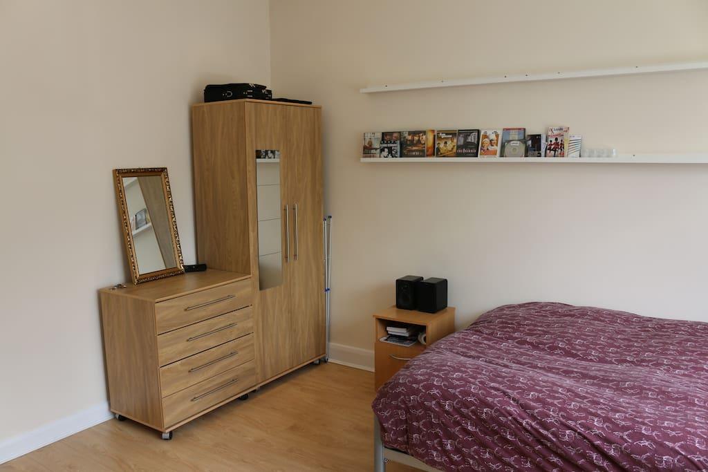 Bedroom 1 cupboards