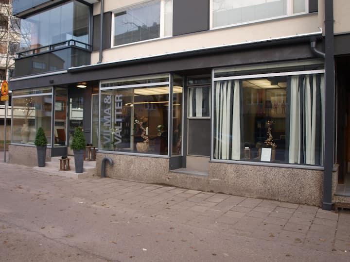 Practical two room apartment near Rauma centre