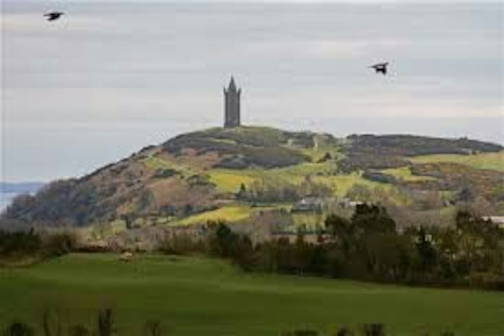 Scrabo tower and Strangford Lough are only a few minutes away