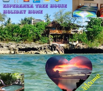 Esperanza Tree House, Seafront Holiday Home