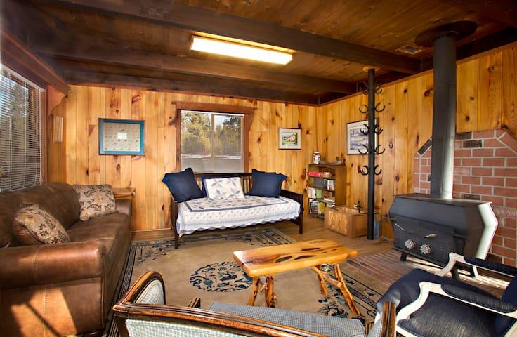 Yamsi Ranch Rustic Cabin