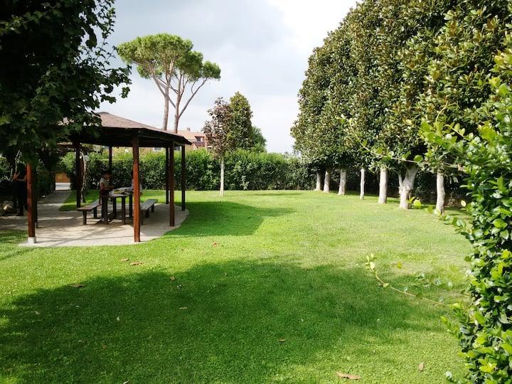 Room/Apt in green Villa (Rome/Ciampino Airport )