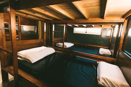 綠島 圈圈House of Coterie背包客棧(體驗濳水/浮濳/船票/海底溫泉/水肺與自由潛水)
