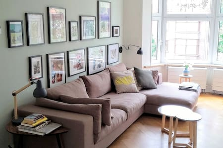Beautiful 2 bedroom apartment close to everything - Rotterdam - Lakás