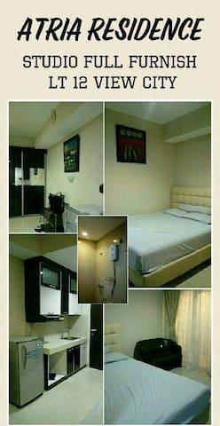 Atria Residences - Studio Apartment 02 by Everest