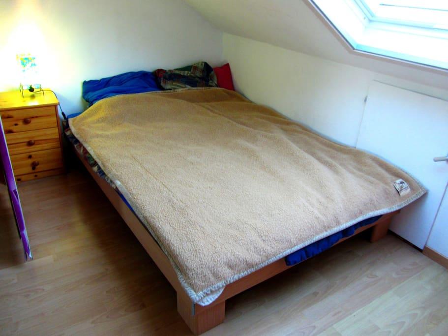 1,40cm Bett
