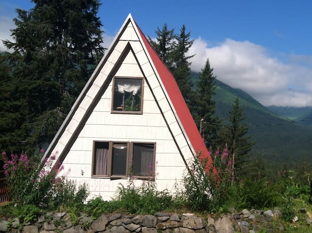 Girdwood View A-Frame - Anchorage - Hus