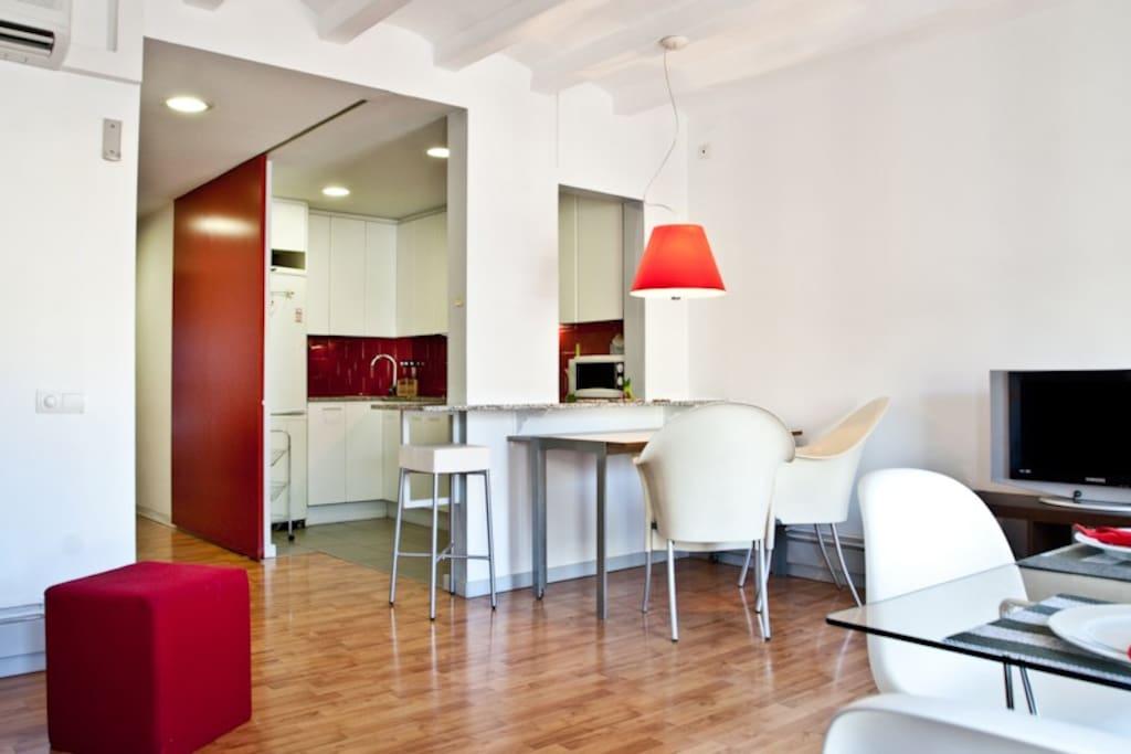 Eixample centric home appartamenti in affitto a for Appartamenti eixample barcellona